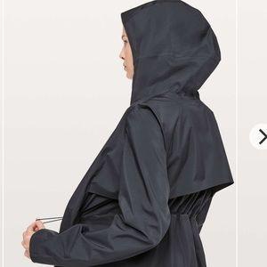 Lululemon Rain Rules Jacket in black NWT
